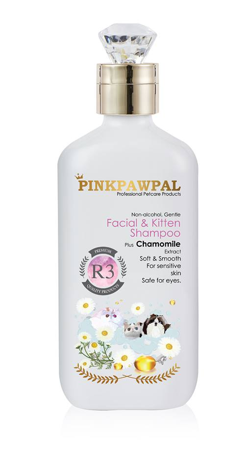 PinkPawPal-USA Facial and kitten shampoo 250ml-R3