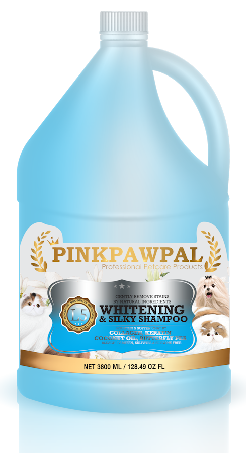 Whitening and Silky Shampoo by pinkpawpal