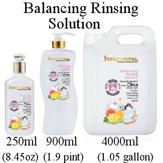 Pink Paw Pal Balancing Rinsing Solution