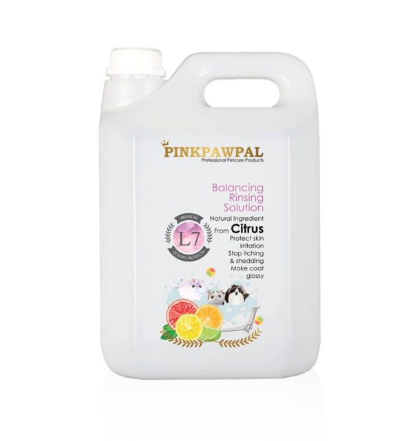 PinkPawPal balancing rinsing solution-4000ml-L7