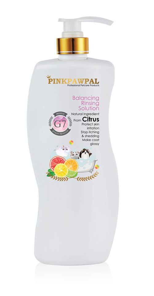 PinkPawPal balancing rinsing solution 900ml-G7
