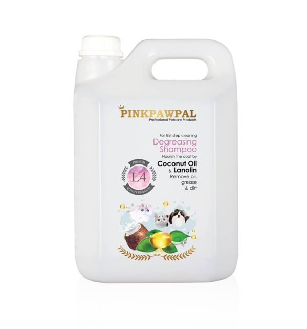 PinkPawPal Degreasing Sjampoo 4000ml-L8