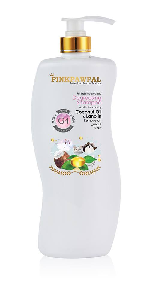PinkPawPal Degreasing Shampoo 900ml - G8