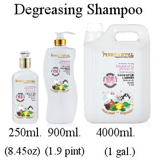 Pink Paw Pal Degreasing Shampoo