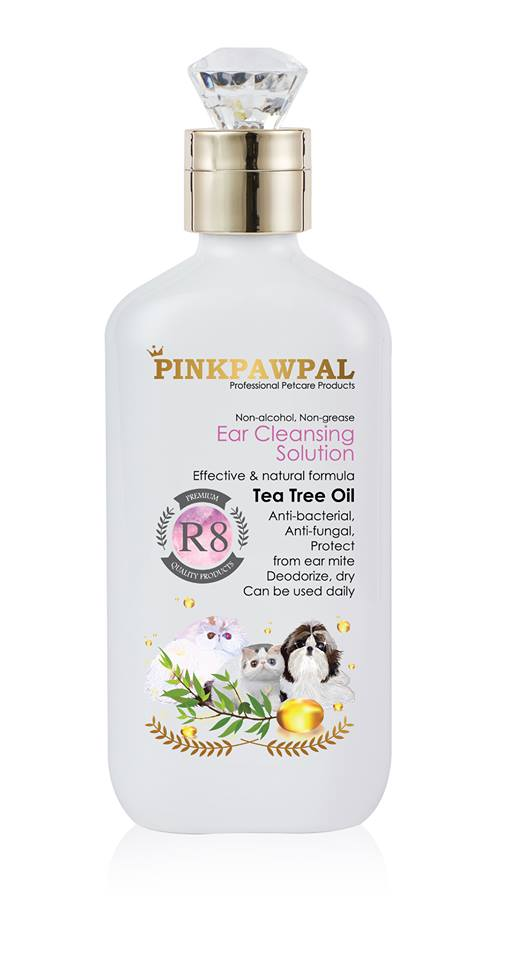 PinkPawPal Ear Cleansing solution 250ml - R8