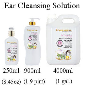 Pink Paw Pal Ear Cleansing Solution