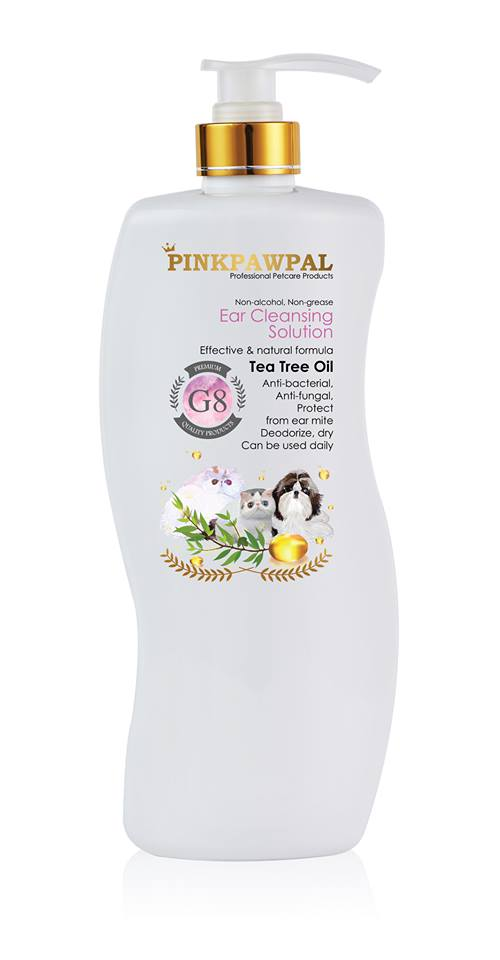 PinkPawPal ear cleansing solution 900ml - G8