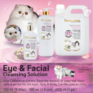 Eye and Facial Cleansing Solution for cats and dogs
