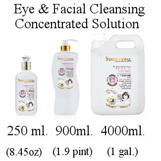 Pink Paw Pal Eye and Facial Cleansing Solution
