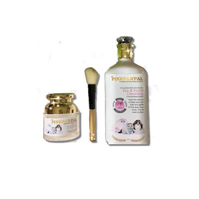 Eye stain removal products for cats and dogs