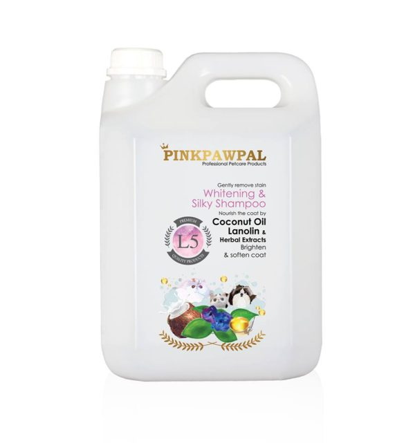 PinkPawPal Whitening and Silky Shampoo-4000ml-L5