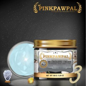 PinkPawPal Degreasing Cream for cats and dogs