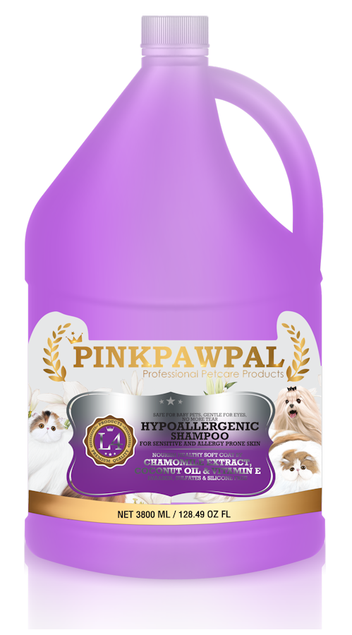 Hypoallergenic Shampoo by pinkpawpal