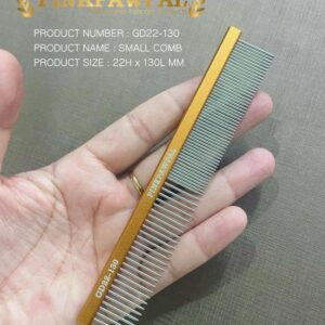 Small comb for pets